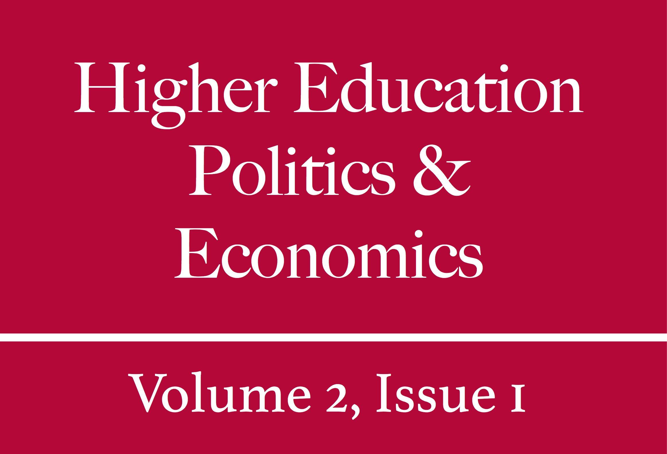 HEPE Volume 2, Issue 1